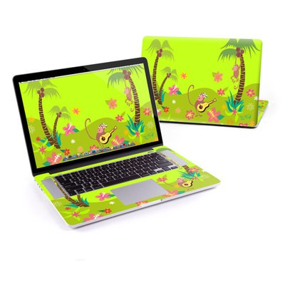 MacBook Pro Retina 15in Skin - Monkey Melody