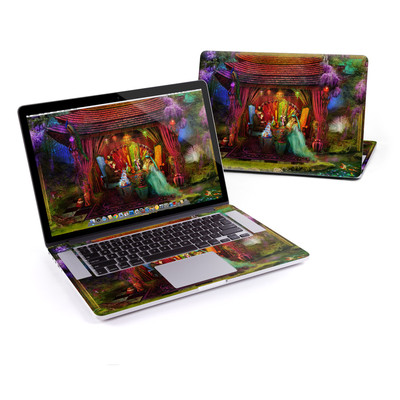 MacBook Pro Retina 15in Skin - A Mad Tea Party