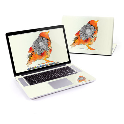 MacBook Pro Retina 15in Skin - Orange Bird