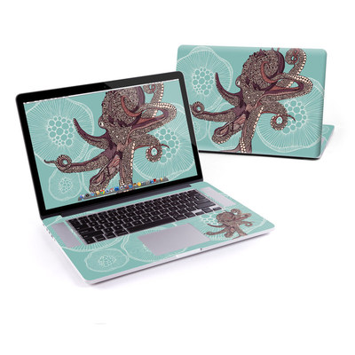 MacBook Pro Retina 15in Skin - Octopus Bloom
