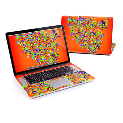 MacBook Pro Retina 15in Skin - Orange Squirt