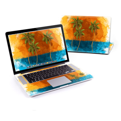MacBook Pro Retina 15in Skin - Palm Trio