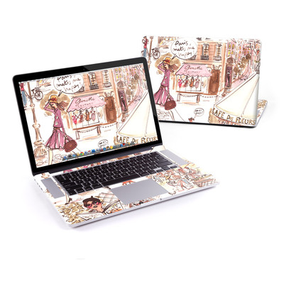 MacBook Pro Retina 15in Skin - Paris Makes Me Happy