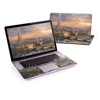 MacBook Pro Retina 15in Skin - Paris City of Love