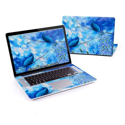 MacBook Pro Retina 15in Skin - Paradise Peacocks