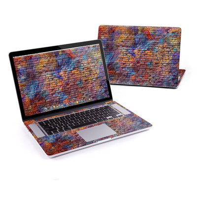 MacBook Pro Retina 15in Skin - Painted Brick
