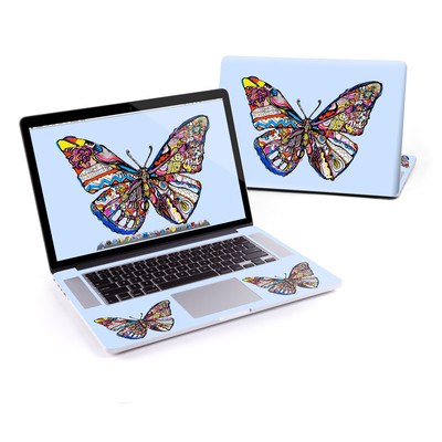 MacBook Pro Retina 15in Skin - Pieced Butterfly