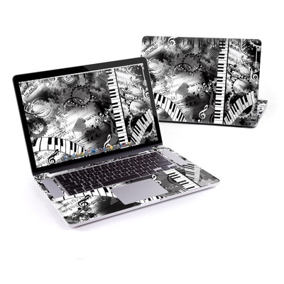 MacBook Pro Retina 15in Skin - Piano Pizazz