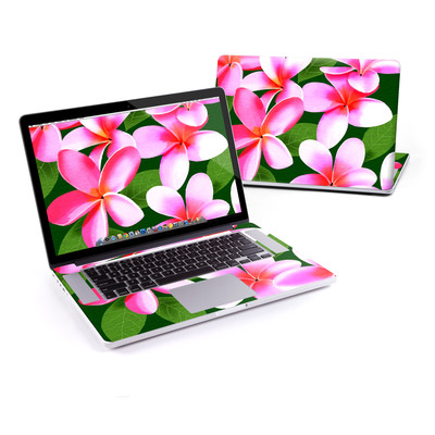 MacBook Pro Retina 15in Skin - Pink Plumerias
