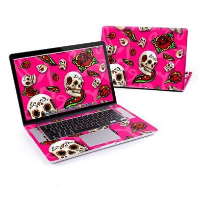 MacBook Pro Retina 15in Skin - Pink Scatter
