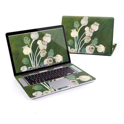 MacBook Pro Retina 15in Skin - Poppy Pods