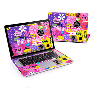 MacBook Pro Retina 15in Skin - Princess Text Me