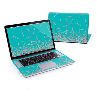 MacBook Pro Retina 15in Skin - Pop Rocks Wands