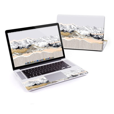MacBook Pro Retina 15in Skin - Pastel Mountains