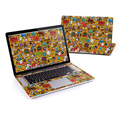 MacBook Pro Retina 15in Skin - Psychedelic