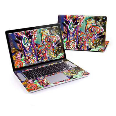 MacBook Pro Retina 15in Skin - Purple Birds
