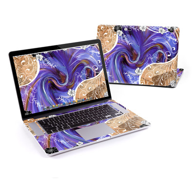 MacBook Pro Retina 15in Skin - Purple Waves
