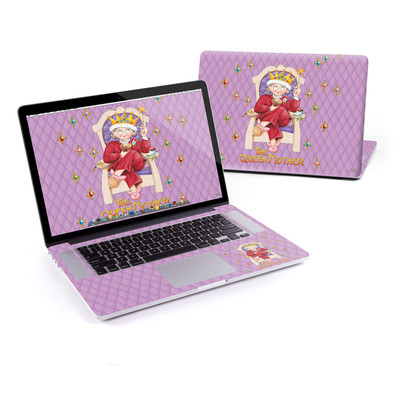 MacBook Pro Retina 15in Skin - Queen Mother