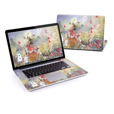 MacBook Pro Retina 15in Skin - Queen of Hearts