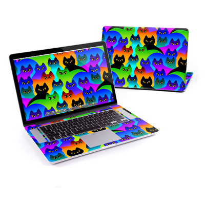 MacBook Pro Retina 15in Skin - Rainbow Cats