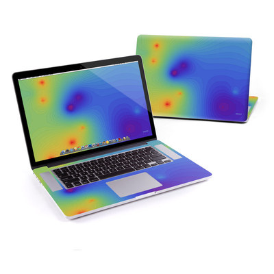 MacBook Pro Retina 15in Skin - Rainbow Contours