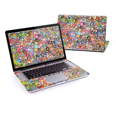 MacBook Pro Retina 15in Skin - Round and Round