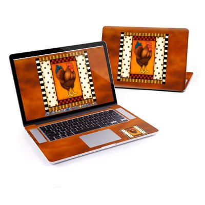 MacBook Pro Retina 15in Skin - Rooster Square