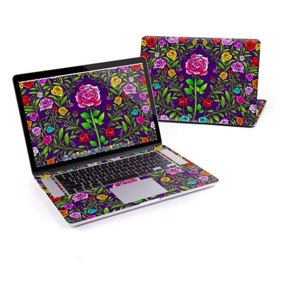 MacBook Pro Retina 15in Skin - Rose Burst