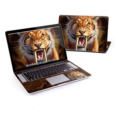 MacBook Pro Retina 15in Skin - Sabertooth