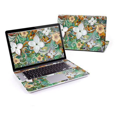 MacBook Pro Retina 15in Skin - Sangria Flora