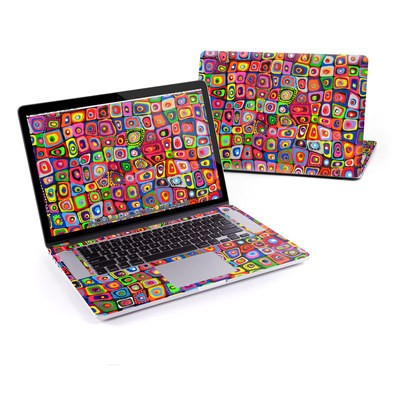 MacBook Pro Retina 15in Skin - Square Dancing