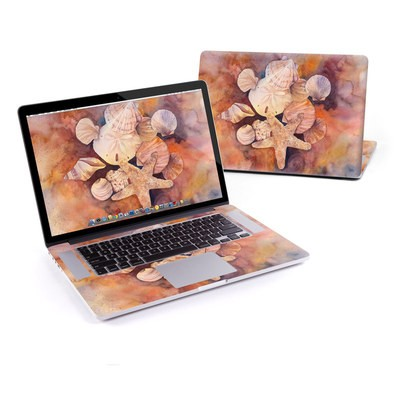 MacBook Pro Retina 15in Skin - Sea Shells