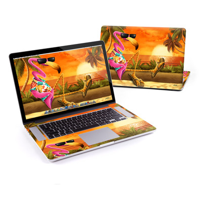 MacBook Pro Retina 15in Skin - Sunset Flamingo