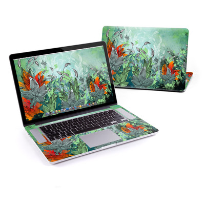 MacBook Pro Retina 15in Skin - Sea Flora