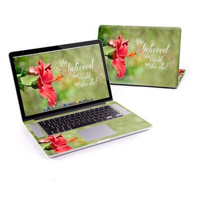 MacBook Pro Retina 15in Skin - She Believed