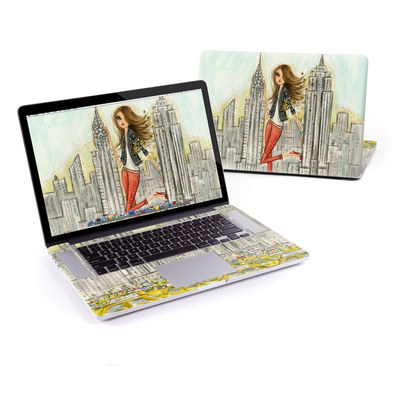 MacBook Pro Retina 15in Skin - The Sights New York
