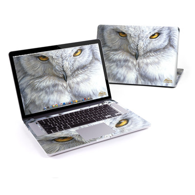 MacBook Pro Retina 15in Skin - Snowy Owl