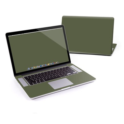 MacBook Pro Retina 15in Skin - Solid State Olive Drab