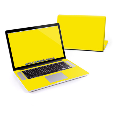 MacBook Pro Retina 15in Skin - Solid State Yellow