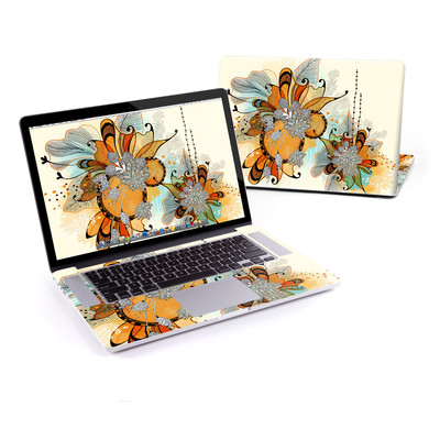MacBook Pro Retina 15in Skin - Sunset Flowers