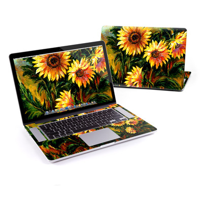 MacBook Pro Retina 15in Skin - Sunflower Sunshine