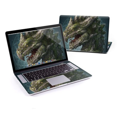 MacBook Pro Retina 15in Skin - Stone Dragon