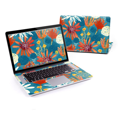 MacBook Pro Retina 15in Skin - Sunbaked Blooms