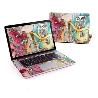 MacBook Pro Retina 15in Skin - Surreal Owl