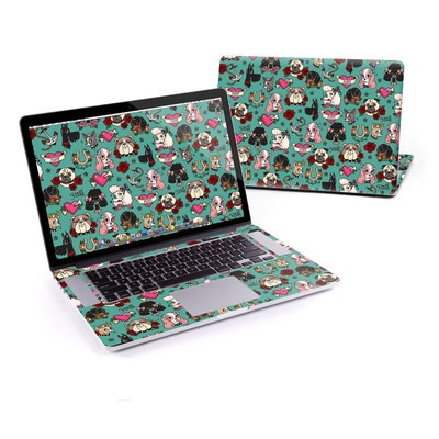 MacBook Pro Retina 15in Skin - Tattoo Dogs