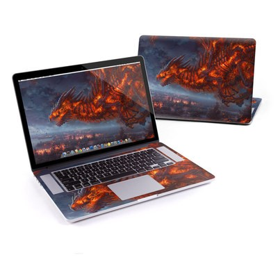 MacBook Pro Retina 15in Skin - Terror of the Night
