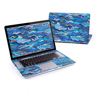 MacBook Pro Retina 15in Skin - The Blues