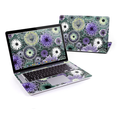 MacBook Pro Retina 15in Skin - Tidal Bloom