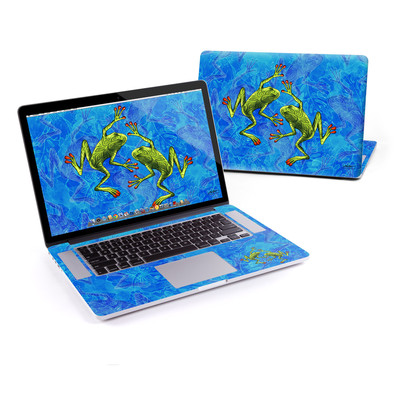 MacBook Pro Retina 15in Skin - Tiger Frogs