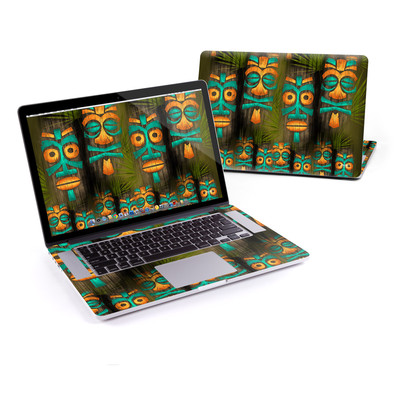 MacBook Pro Retina 15in Skin - Tiki Abu